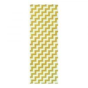Brita Sweden Gunnel Matto Mustard 70x100 Cm
