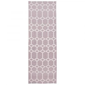 Brita Sweden Ingrid Matto Dusty Pink 70x250 Cm