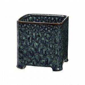 Broste Copenhagen Annie Square L Pot Ruukku Musta 11.5x11.5 Cm