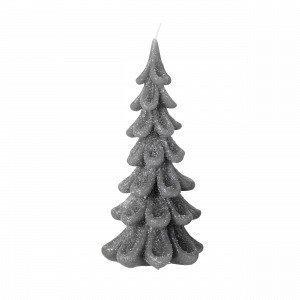 Broste Copenhagen Christmas Tree Candle Kynttilä Harmaa 9x9 Cm