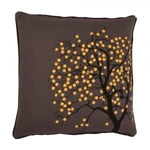 Broste Copenhagen Fruit Tree Tyynynpäällinen Ruskea 50x50 Cm