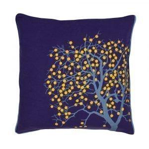 Broste Copenhagen Fruit Tree Tyynynpäällinen Sininen 50x50 Cm
