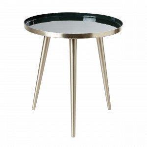 Broste Copenhagen Jelva Apupöytä Tummanvihreä 35x35 Cm