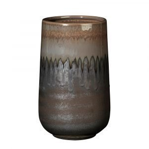 Broste Copenhagen Laust Cylinder Maljakko Pieni Harmaa