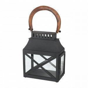Broste Copenhagen Olle Lantern Lyhty Musta 11x30 Cm