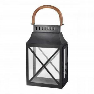 Broste Copenhagen Olle Lantern Lyhty Musta 16x46 Cm