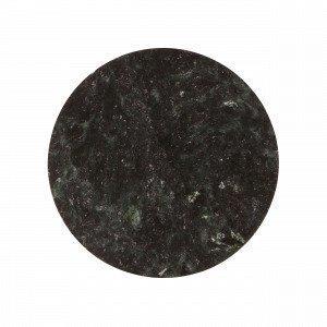 Broste Copenhagen Plate Marble Marmorilautanen Vihreä