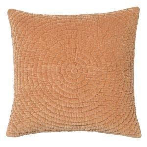 Broste Copenhagen Quilt Ring Tyynynpäällinen Indian Tan 60x60 Cm