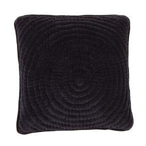 Broste Copenhagen Quilt Ring Tyynynpäällinen Tummansininen 40x40 Cm