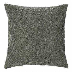 Broste Copenhagen Quilt Ring Tyynynpäällinen Vihreä 60x60 Cm
