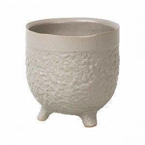Broste Copenhagen Raw S Pot Ruukku Beige 11.8x11.8 Cm