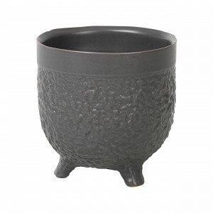 Broste Copenhagen Raw S Pot Ruukku Musta 11.8x11.8 Cm