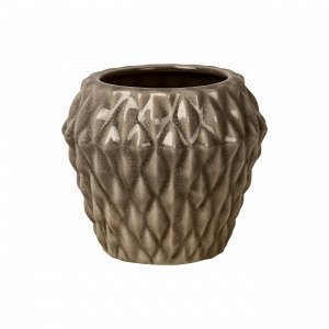 Broste Copenhagen Rhomby S Pot Ruukku Ruskea 14.5x14.5 Cm