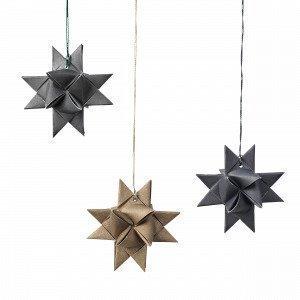 Broste Copenhagen Star Joulukuusenkoriste Harmaa