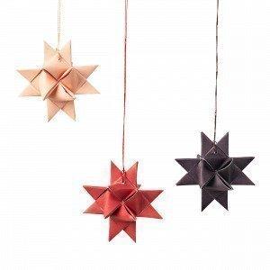 Broste Copenhagen Star Joulukuusenkoriste Punainen