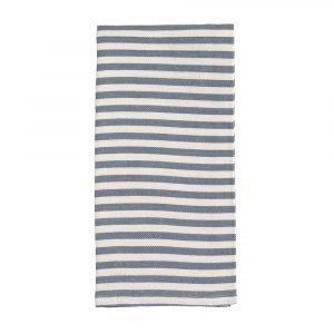Broste Copenhagen Stripe Keittiöpyyhe Moonlight Blue 50x70 Cm 2 Kpl
