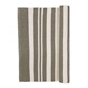 Broste Copenhagen Stripe Matto Taupe / Norsunluu 70x140 Cm