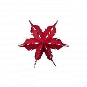 Broste Copenhagen Vener Decoration Star Koristetähti Joulunpunainen 30x30 Cm