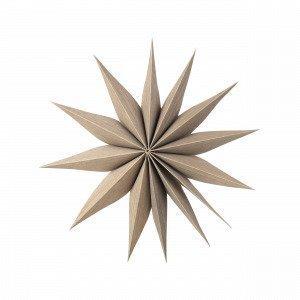 Broste Copenhagen Venok Decoration Star Koristetähti Luonnonvalkoinen 30x30 Cm