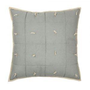 Broste Copenhagen Vicky Tyynynpäällinen Oil Green Quilt 50x50 Cm