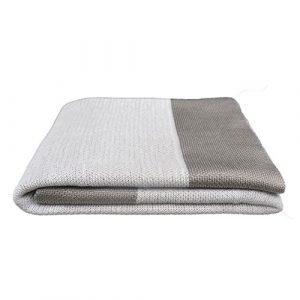 Cane Line Stay Warm Huopa Dusty White 110x170 Cm