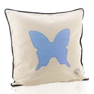 Carolina Gynning Blue Butterfly Tyynynpäällinen