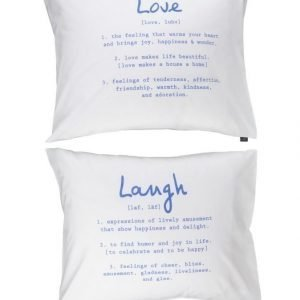 Casa Stockmann Love & Laugh Tyynyliinasetti 50 X 60 cm