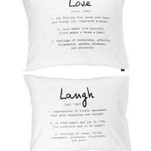 Casa Stockmann Love&Laugh Tyynyliina 50 X 60 cm 2 kpl