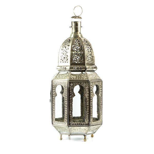 Casablanca Lyhty Lasi Ikkunoilla