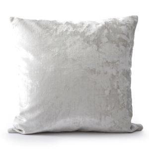 Ceannis Crushed Velvet Tyynynpäällinen White 50x50 Cm