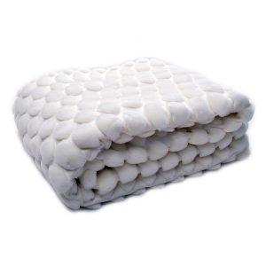 Ceannis Egg Huopa Valkoinen 130x170 Cm