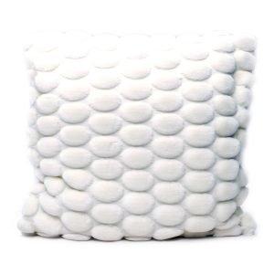 Ceannis Egg Tyynynpäällinen Valkoinen 50x50 Cm