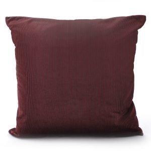 Ceannis Pinstripe Tyynynpäällinen Punainen 50x50 Cm
