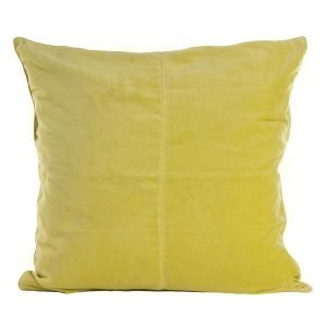 Ceannis Velvet Tyynynpäällinen Lime Green 50x50 Cm