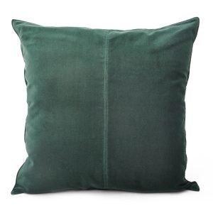 Ceannis Velvet Tyynynpäällinen Tummanvihreä 50x50 Cm