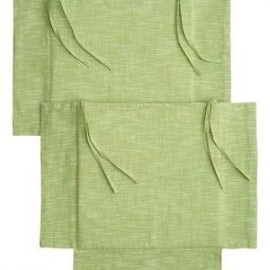 Cellbes Istuintyyny 2-Pakkaus Vaaleanvihreä