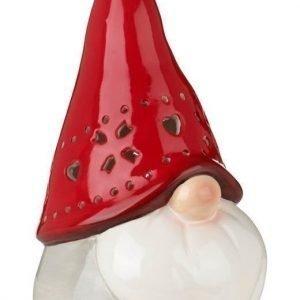 Cellbes Kynttiläpidike Punainen Harmaa Valkoinen