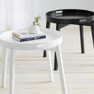 Cellbes Tarjotinpöytä Valkoinen
