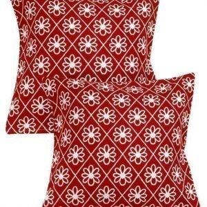 Cellbes Tyynynpäällinen 2-Pakkaus Punainen