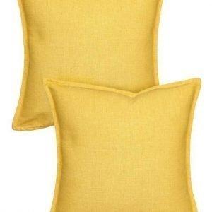 Cellbes Tyynynpäällinen 2-Pakkaus Sinapinkeltainen