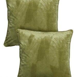 Cellbes Tyynynpäällinen 2-Pakkaus Sumunvihreä