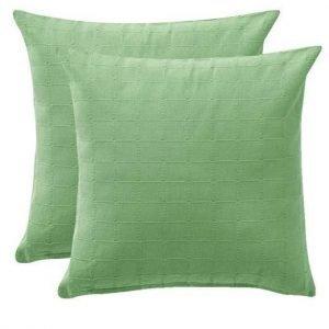 Cellbes Tyynynpäällinen 2-Pakkaus Vihreä