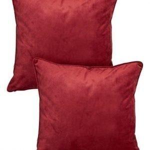 Cellbes Tyynynpäällinen 2-Pakkaus Viininpunainen
