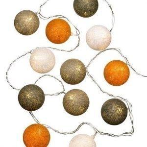 Cellbes Valoköynnös Cotton ball Oranssi Beige