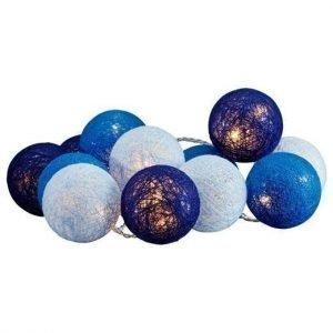 Cellbes Valoköynnös Cotton ball Sininen Valkoinen