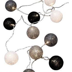 Cellbes Valoköynnös Cotton ball Valkoinen Musta Harmaa