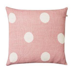 Chhatwal & Jonsson Big Dots Tyynynpäällinen Vaaleanpunainen 50x50 Cm