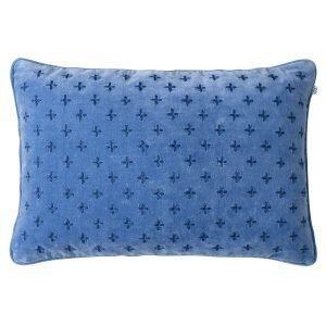Chhatwal & Jonsson Cadi Velvet Tyynynpäällinen Riviera / Blue 40x60 Cm