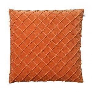 Chhatwal & Jonsson Deva Velvet Tyynynpäällinen Oranssi 50x50 Cm