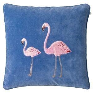 Chhatwal & Jonsson Embroid. Flamingo Tyynynpäällinen Riviera B 50x50 Cm